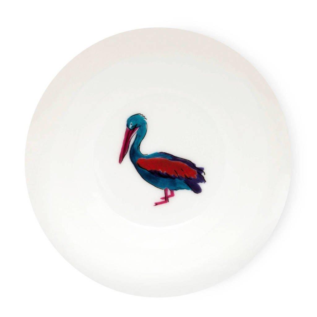 Fabienne Chapot Pelican theetip (Ø8 cm), Wit