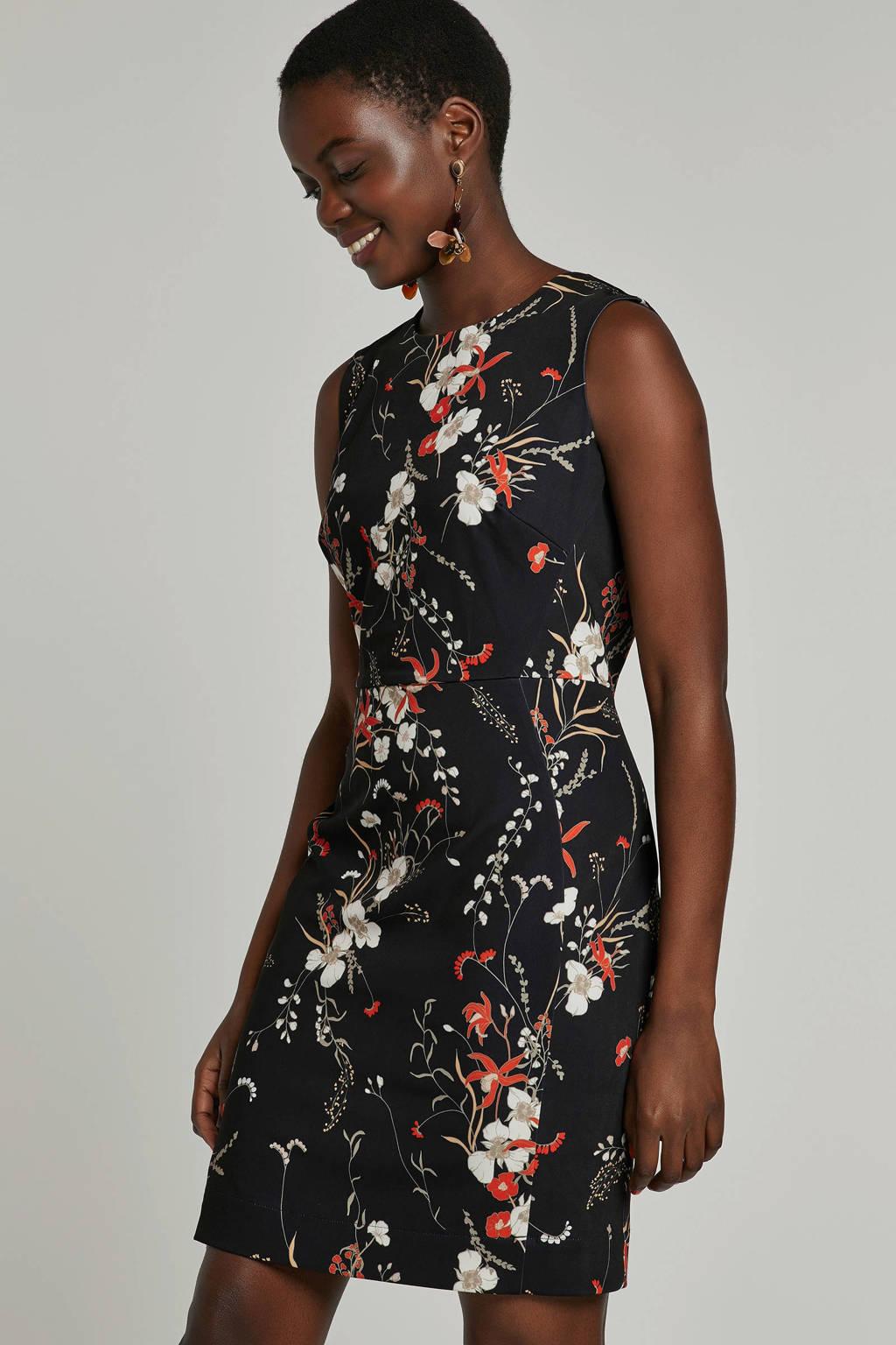Inwear gebloemde jurk, Zwart/multi