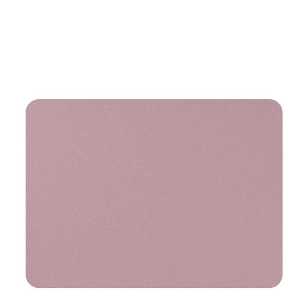 Mesapiu Nappa placemat (45x33 cm) (set van 2), Fuchsia