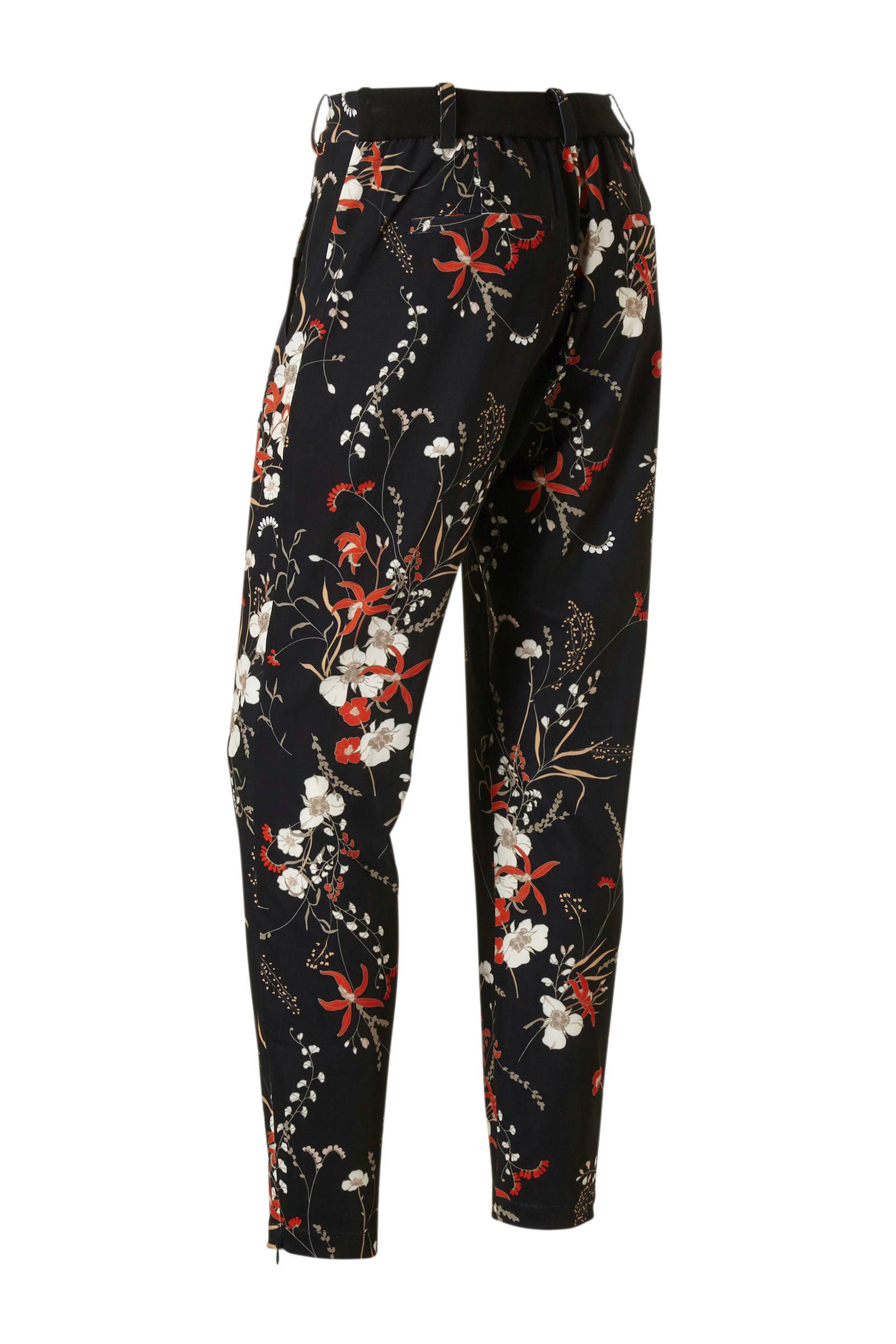 Inwear Gebloemde Regular Fit Broek Zwart qPlQP2YB