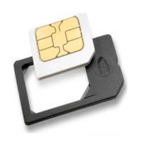 Azuri simkaart adapter, Zwart
