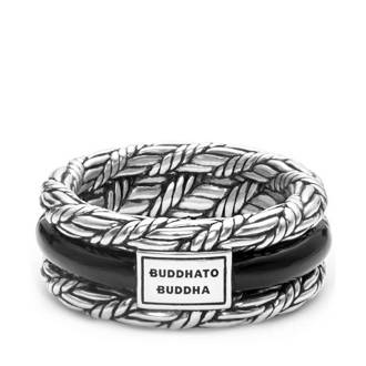 ring  Ketut Ston zilver