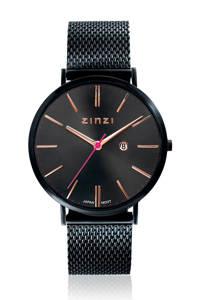 Zinzi horloge ZIW409M, Zwart