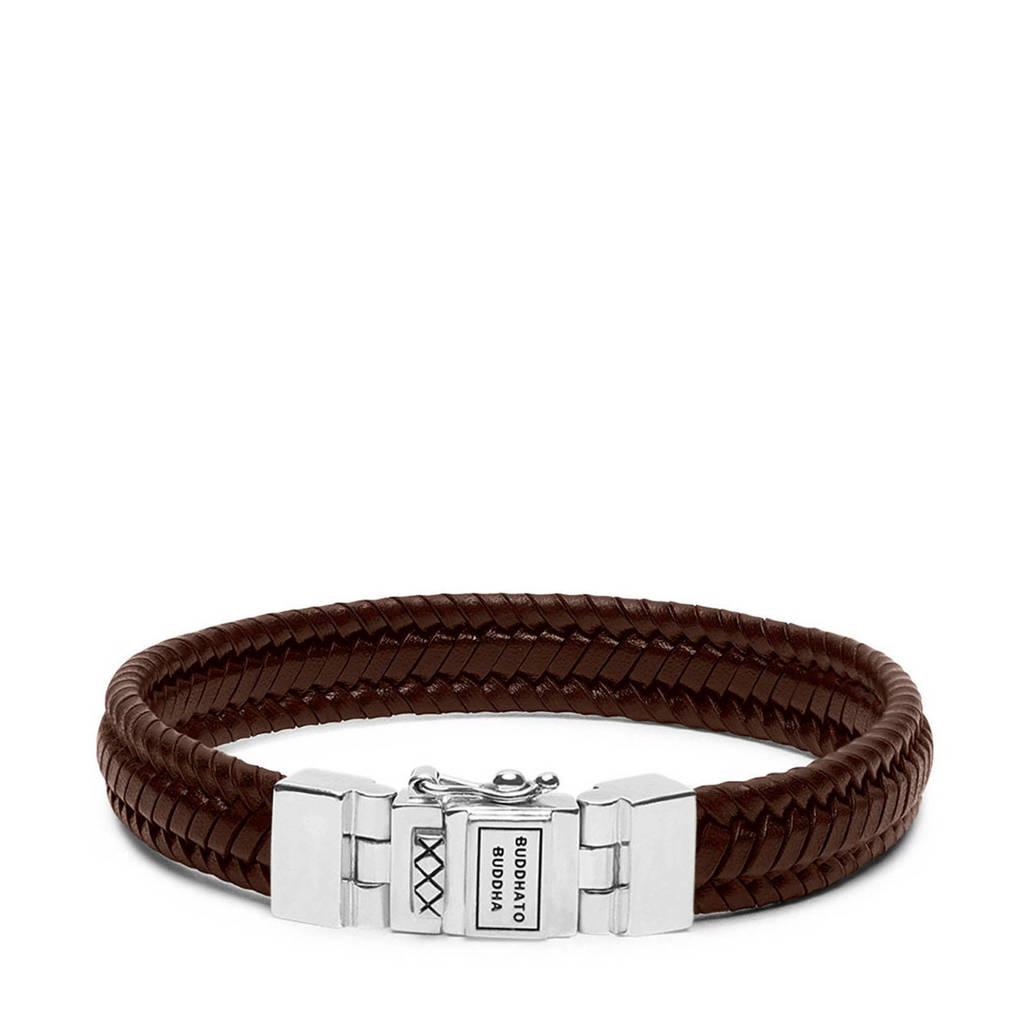 Buddha To Buddha armband 181BL-E bruin, Bruin