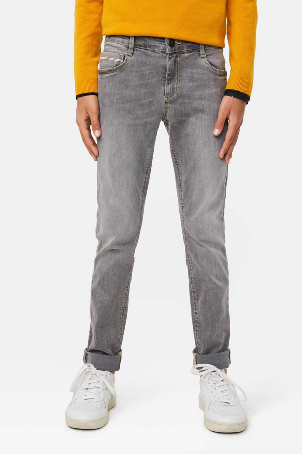 WE Fashion Blue Ridge skinny jeans Frasco Dragon, Grijs
