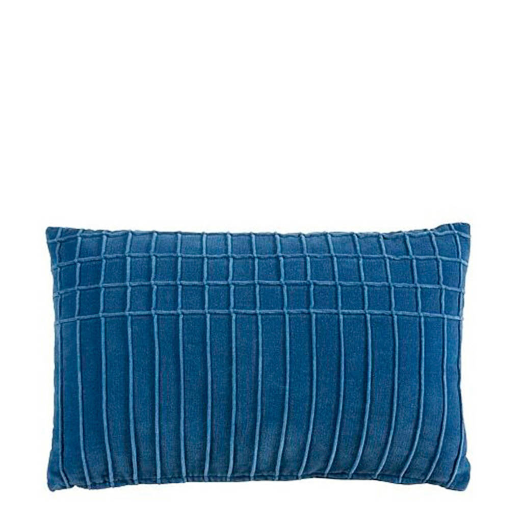 KAAT Amsterdam sierkussen Aura (30x50 cm), Blauw