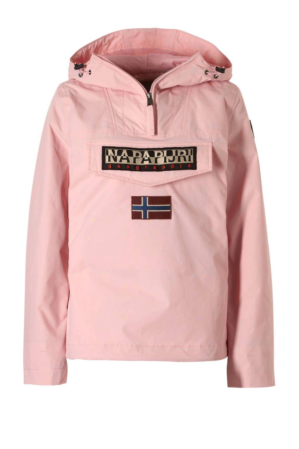 online winkel geweldige aanbiedingen 2017 Verkooppromotie Napapijri zomerjas roze   wehkamp