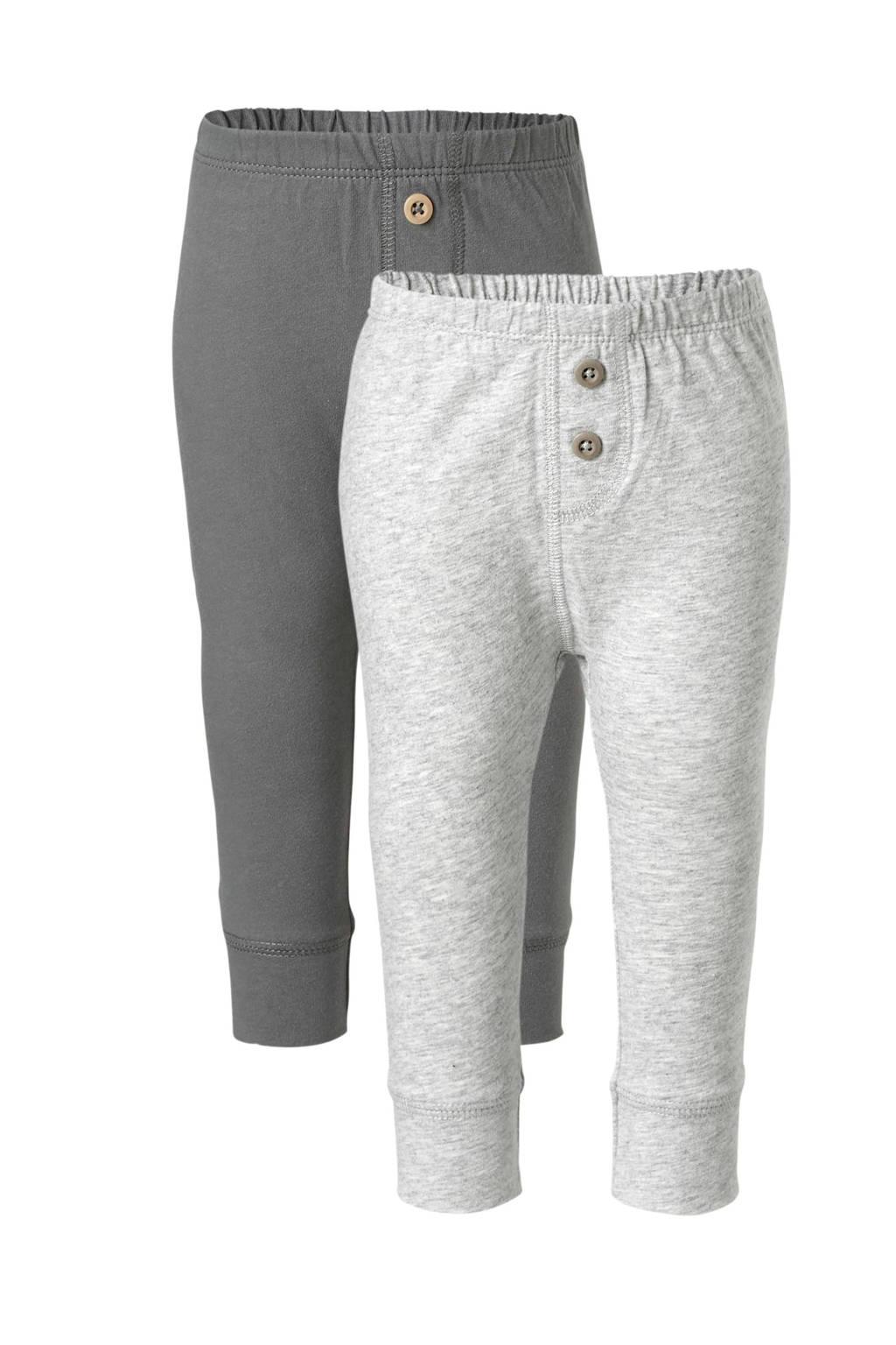 Carter's broek - set van 2 grijs, Grijs/lichtgrijs
