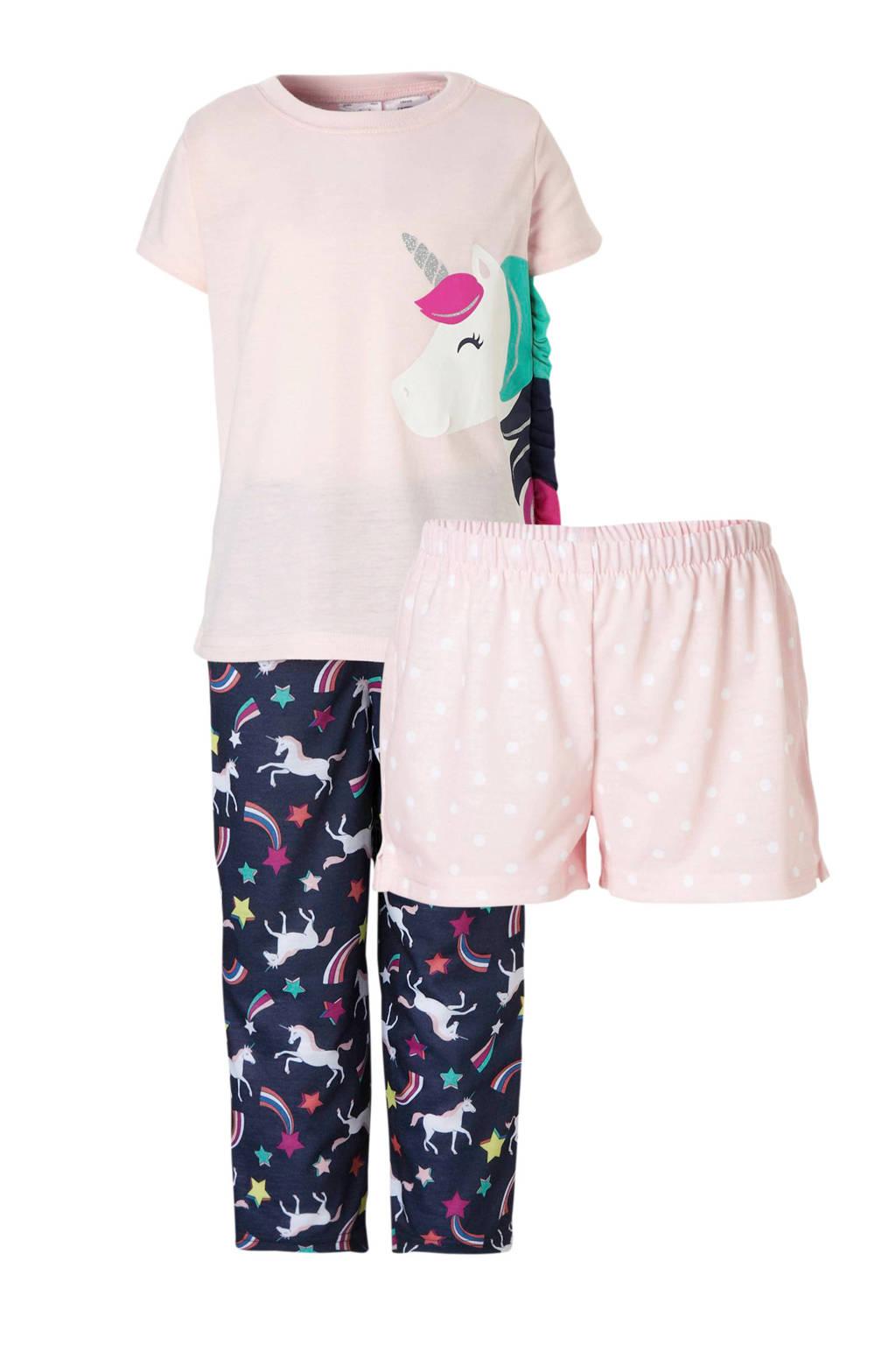 Carter's pyjama met eenhoorns, Lichtroze