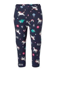 Carter's longsleeve en broek met unicorn print roze/donkerblauw, Roze/donkerblauw