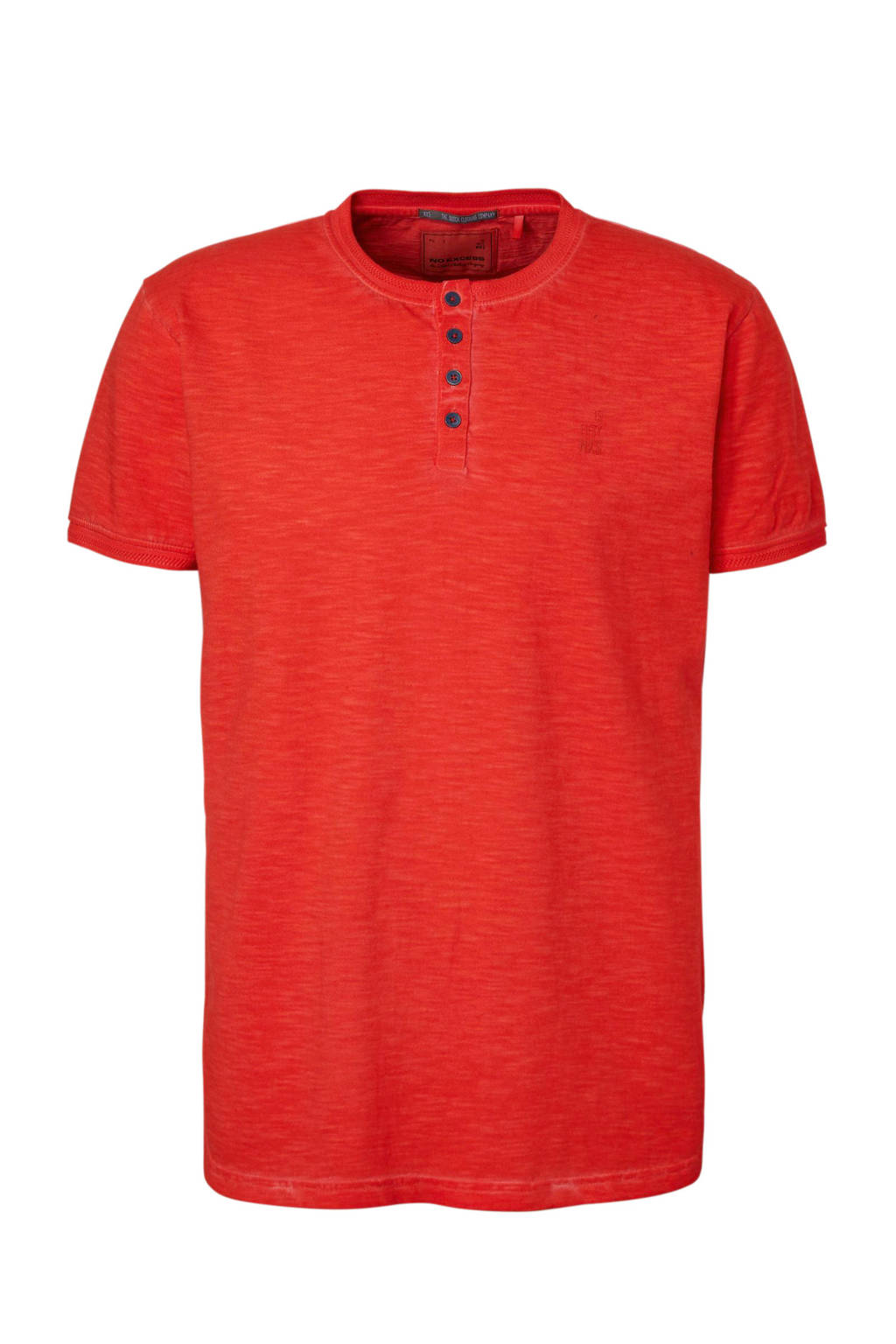 No Excess T-shirt rood, Rood