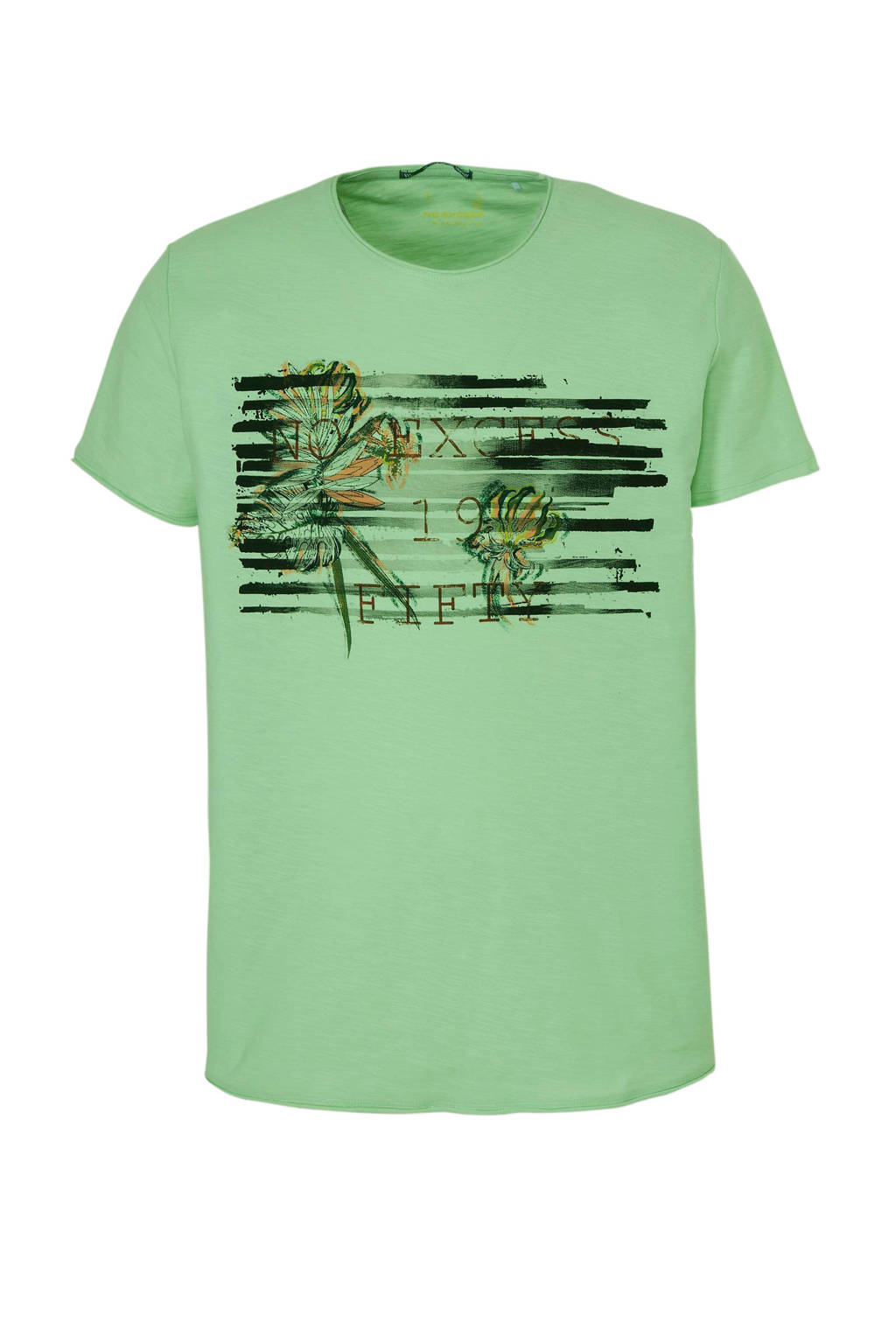 No Excess T-shirt groen, Groen