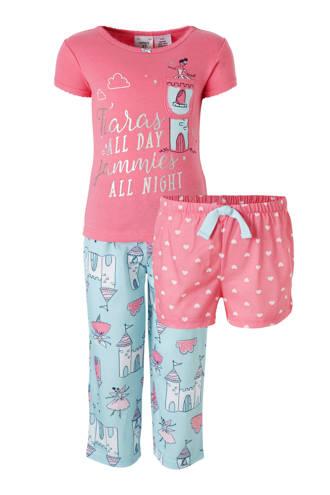 pyjama roze/blauw