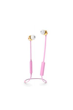 in-ear hoofdtelefoon (roze)
