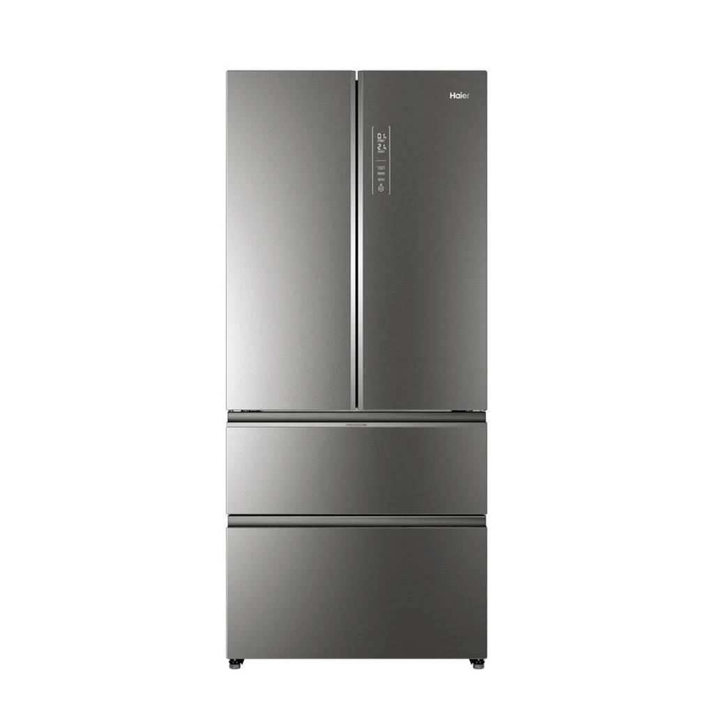 Haier HB18FGSAAA Amerikaanse koelkast, Zilver