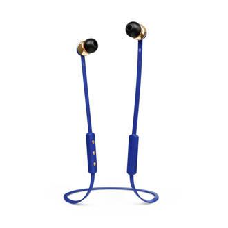 in-ear hoofdtelefoon (blauw)