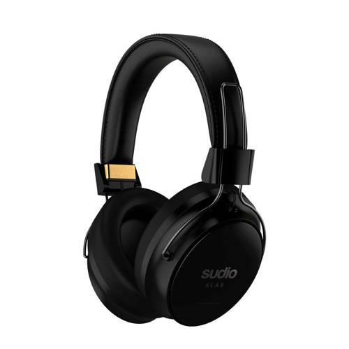 Sudio Klar HiFi Oordopjes Over Ear Bluetooth Zwart Ruisonderdrukking, Vouwbaar