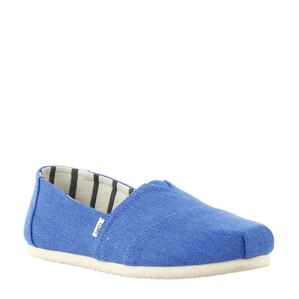 Toms Alpargata Riviera instappers kobaltblauw, Blauw