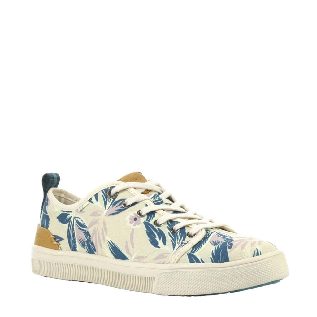 Toms  Travel Lite Print sneakers, Beige/blauw