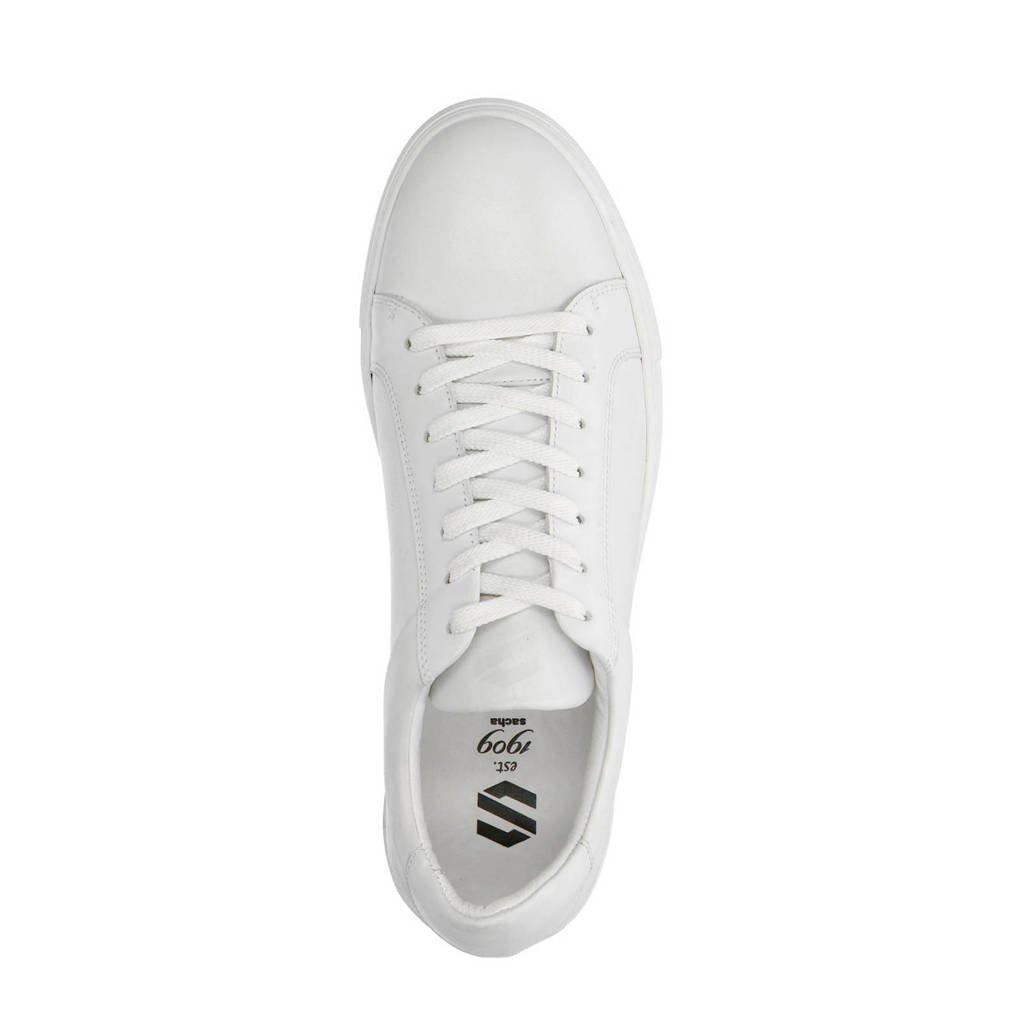 a3374d88ac7 Sacha leren sneakers wit | wehkamp