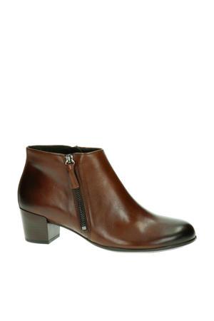 Shape M 35 comfort leren enkellaarzen bruin
