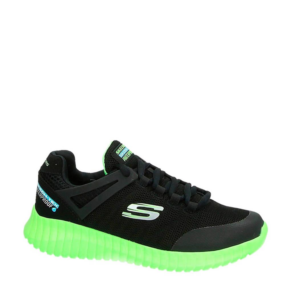 Skechers   sneakers zwart, zwart/neon