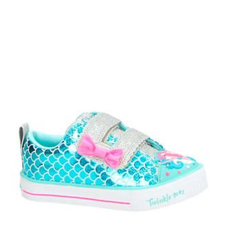 sneakers blauw/roze