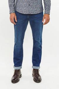 WE Fashion Blue Ridge regular fit jog denim jeans Stark Rex donkerblauw, Donkerblauw