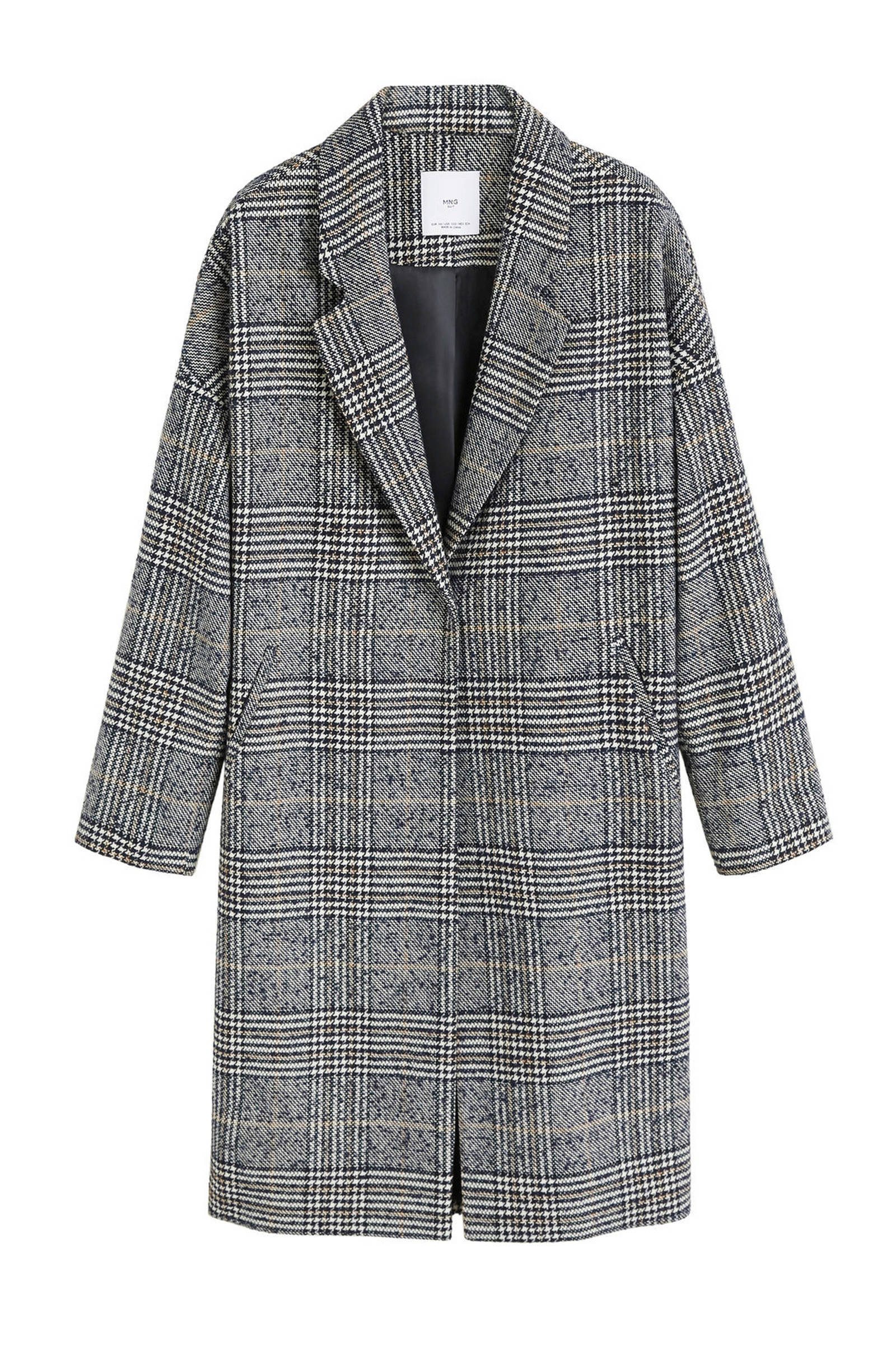 Wollen mantel jas dames