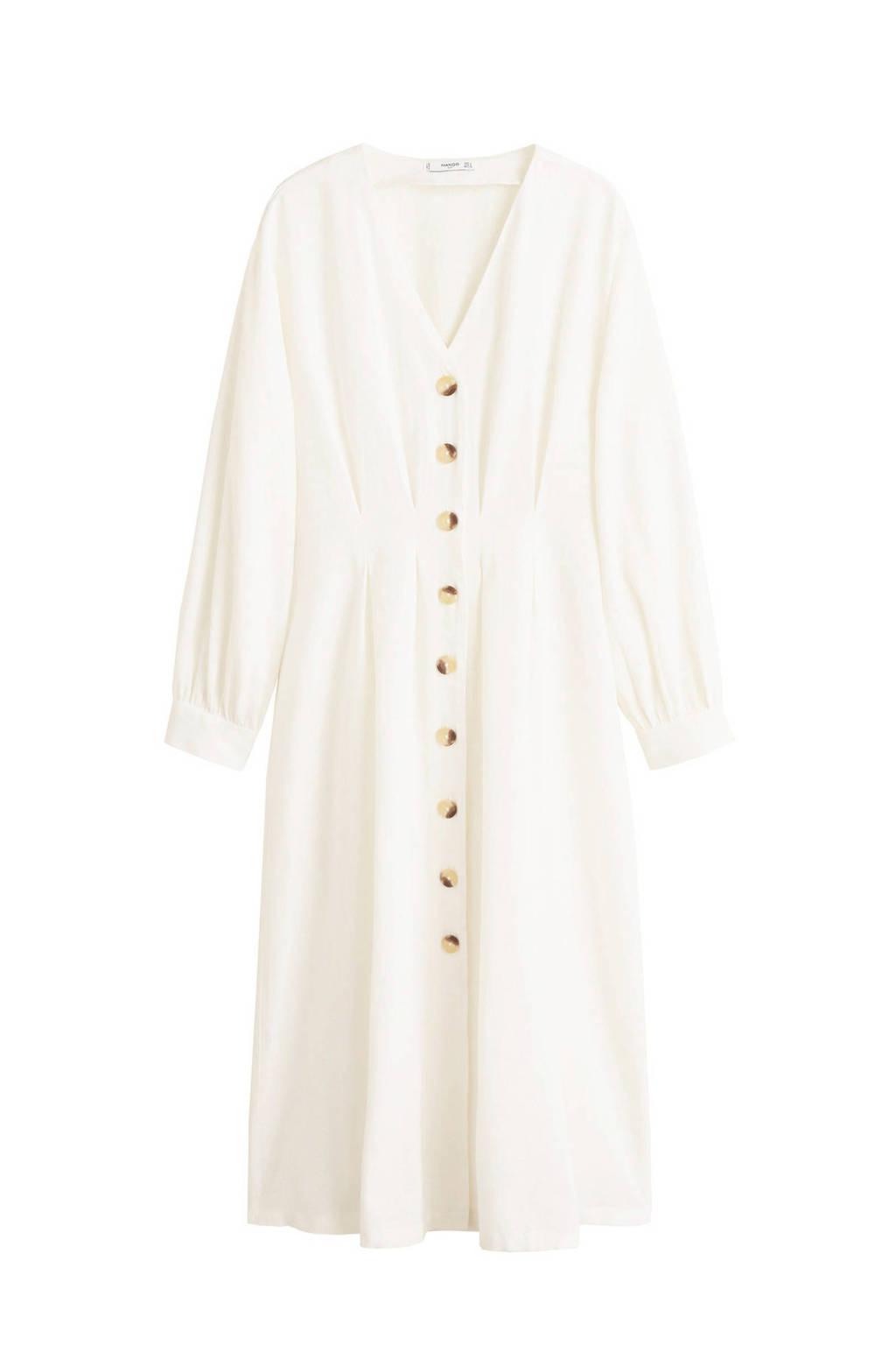 Mango jurk wit, Wit
