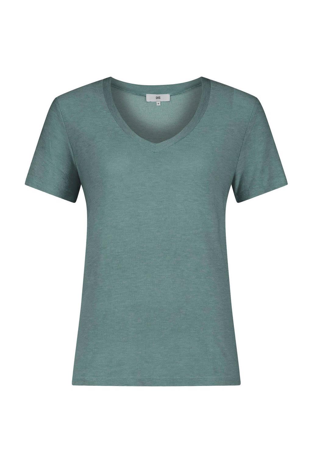 CKS Ebony T-shirt groen, Groen