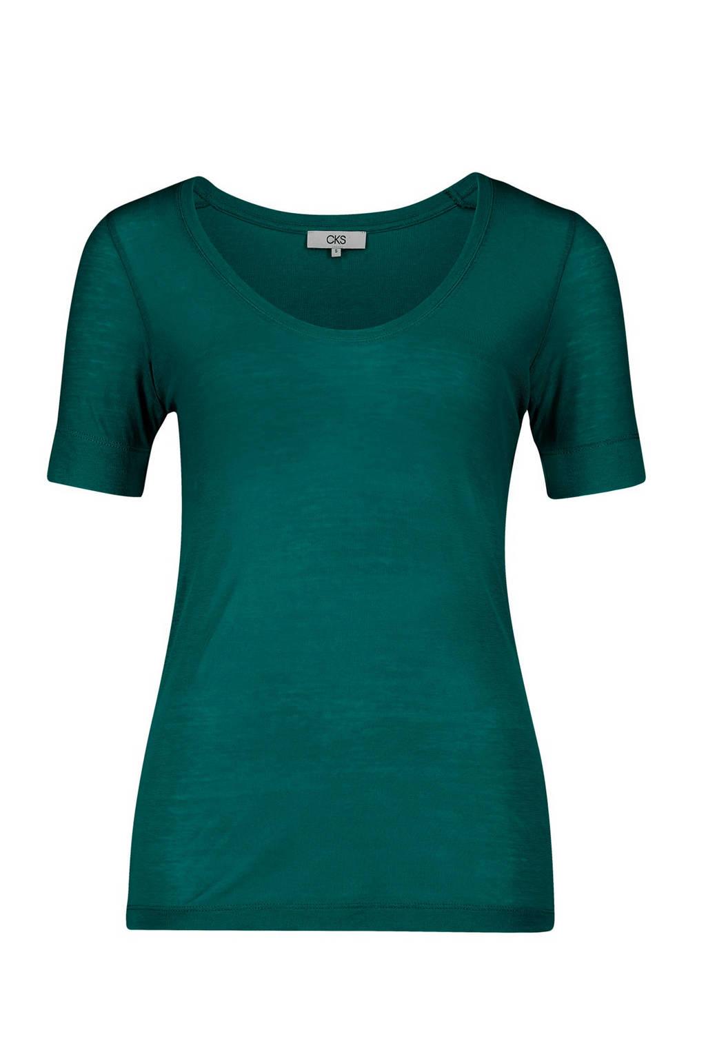 CKS T-shirt donkergroen, Donkergroen