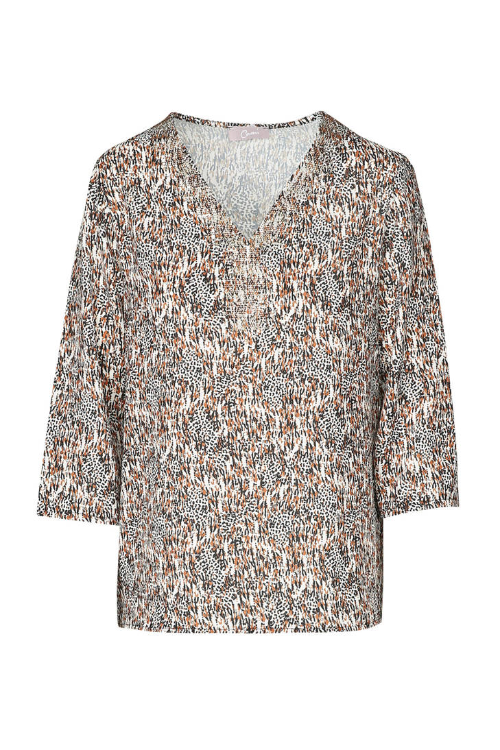 blouse over print Cassis met all P6dPwOq
