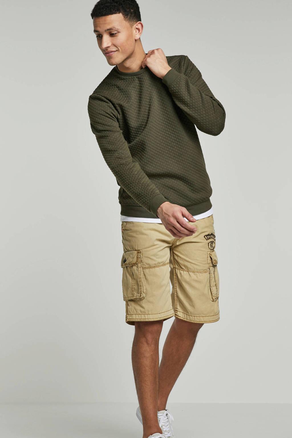 No Excess sweater, Khakigroen