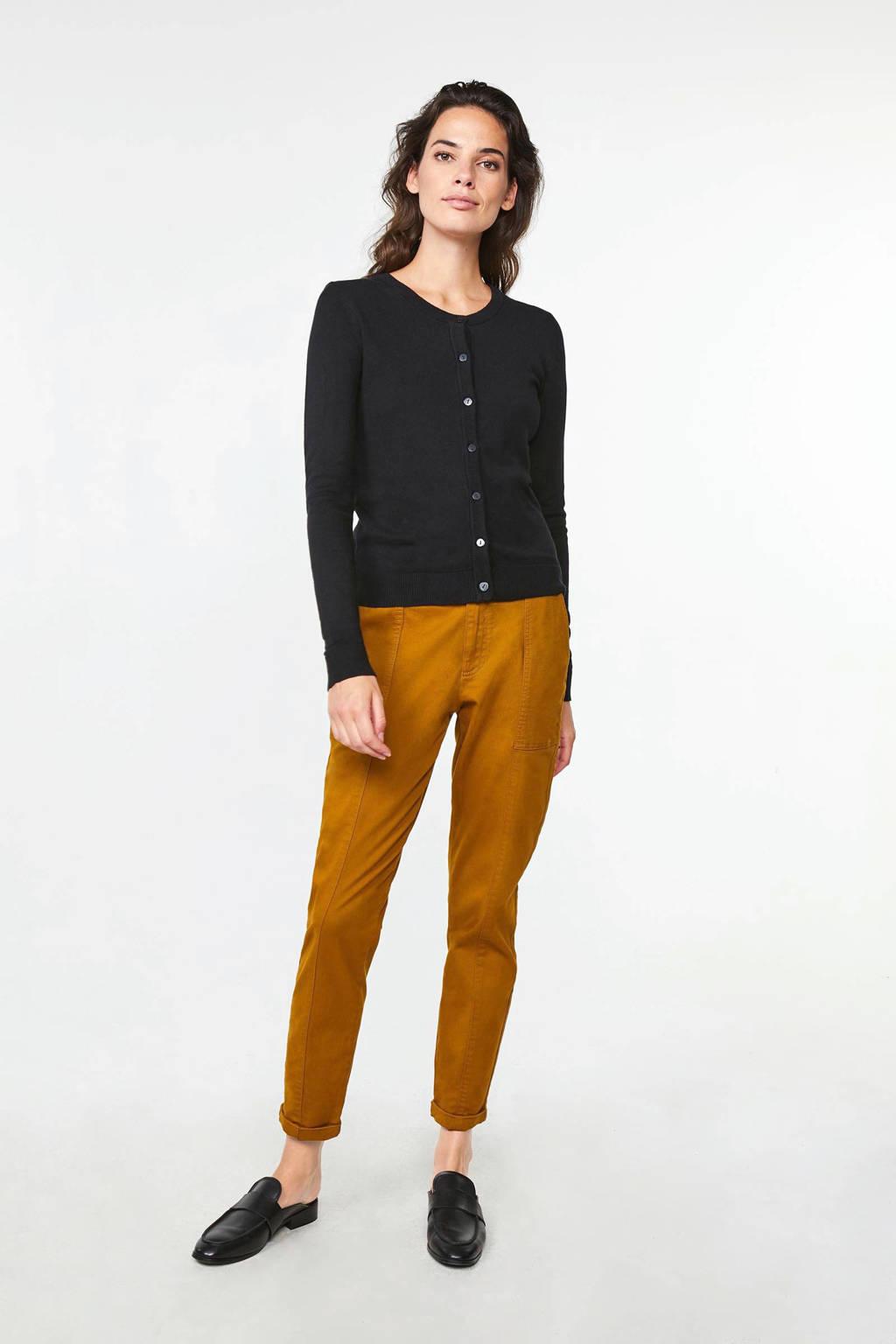 WE Fashion vest black uni, Black Uni