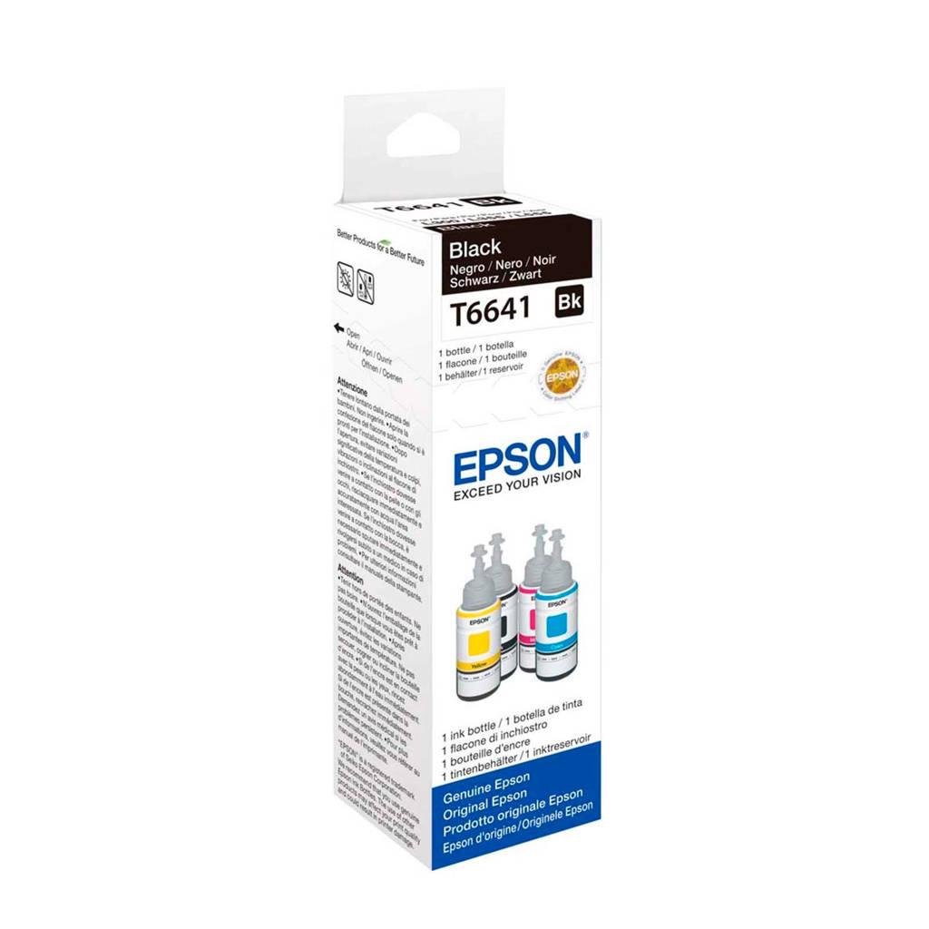 Epson  Ecotank T6641 inktcartridge (zwart), Zwart