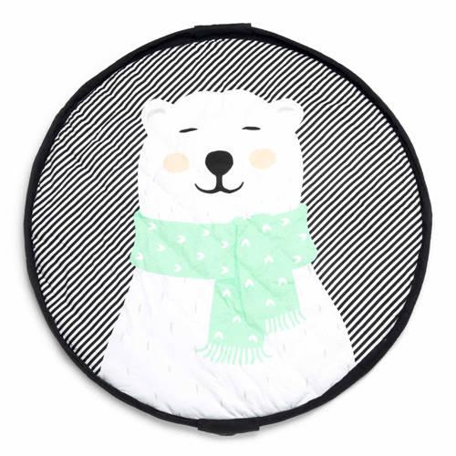 Play&Go Soft Polar Bear 3-in-1 opbergzak kopen