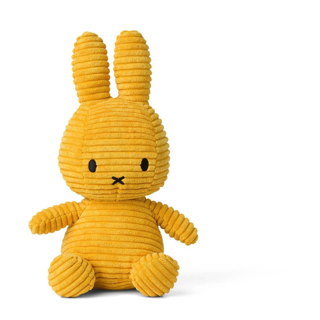 nijntje Corduroy geel knuffel 33 cm, Geel