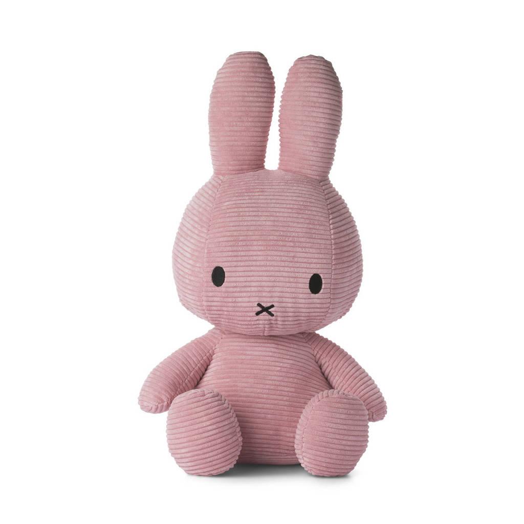 nijntje Corduroy roze knuffel 33 cm, Roze