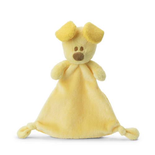 Woezel & Pip knuffeldoekje Pip 30 cm geel