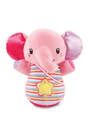 bedtijd olifantje roze
