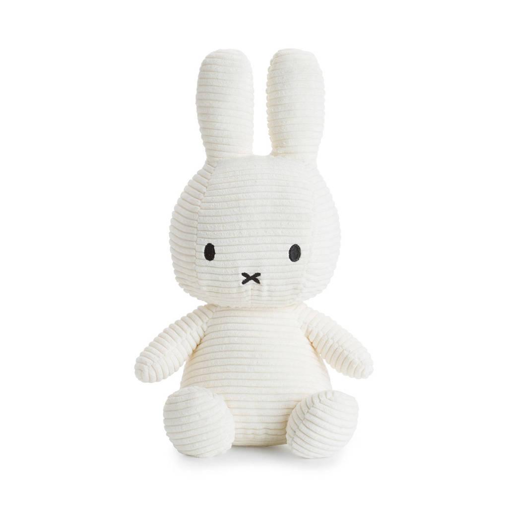 nijntje Miffy Sitting Corduroy off white knuffel 33 cm, Off White