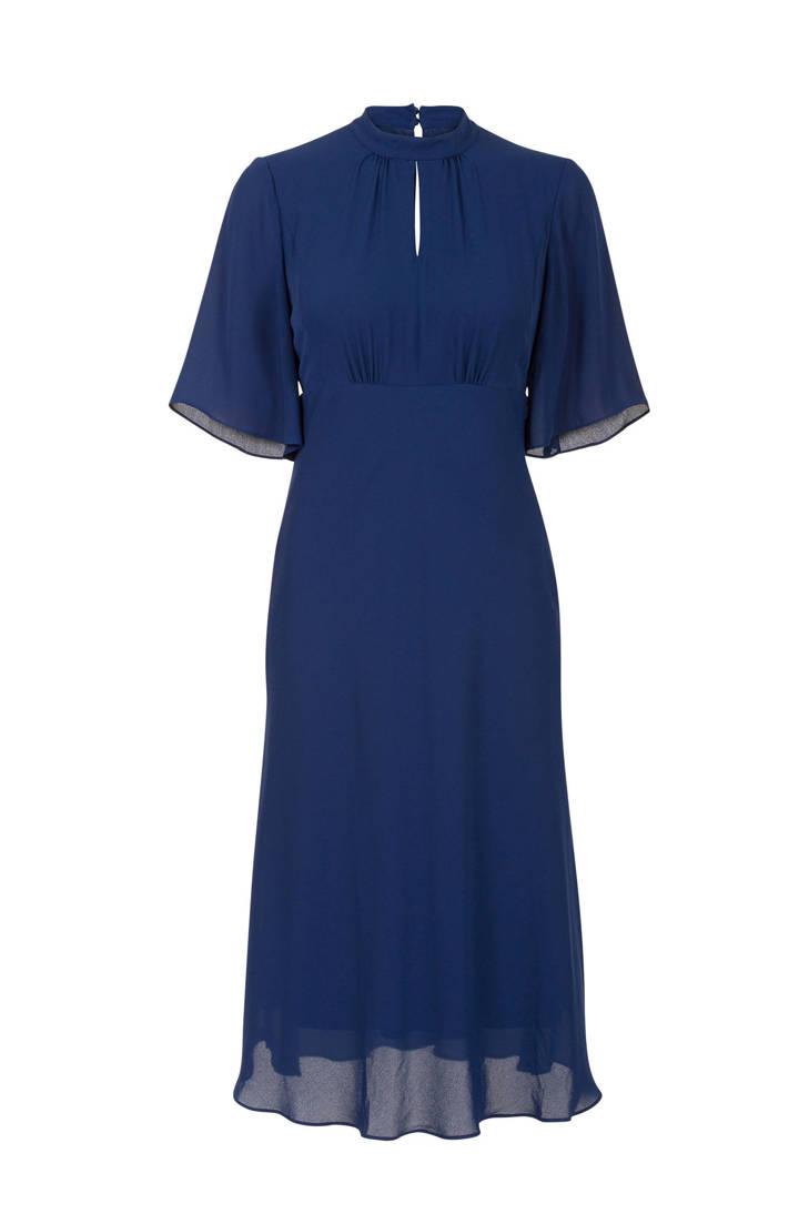 jurk met Steps met jurk mesh donkerblauw Steps Steps mesh met donkerblauw jurk qEA4wnxC