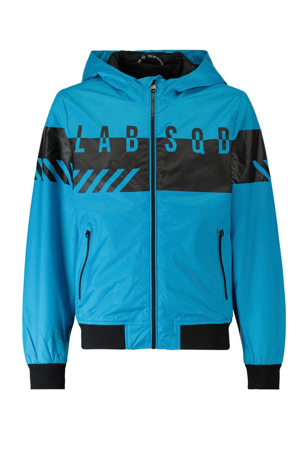 CoolCat zomerjas met tekst blauw, Blauw