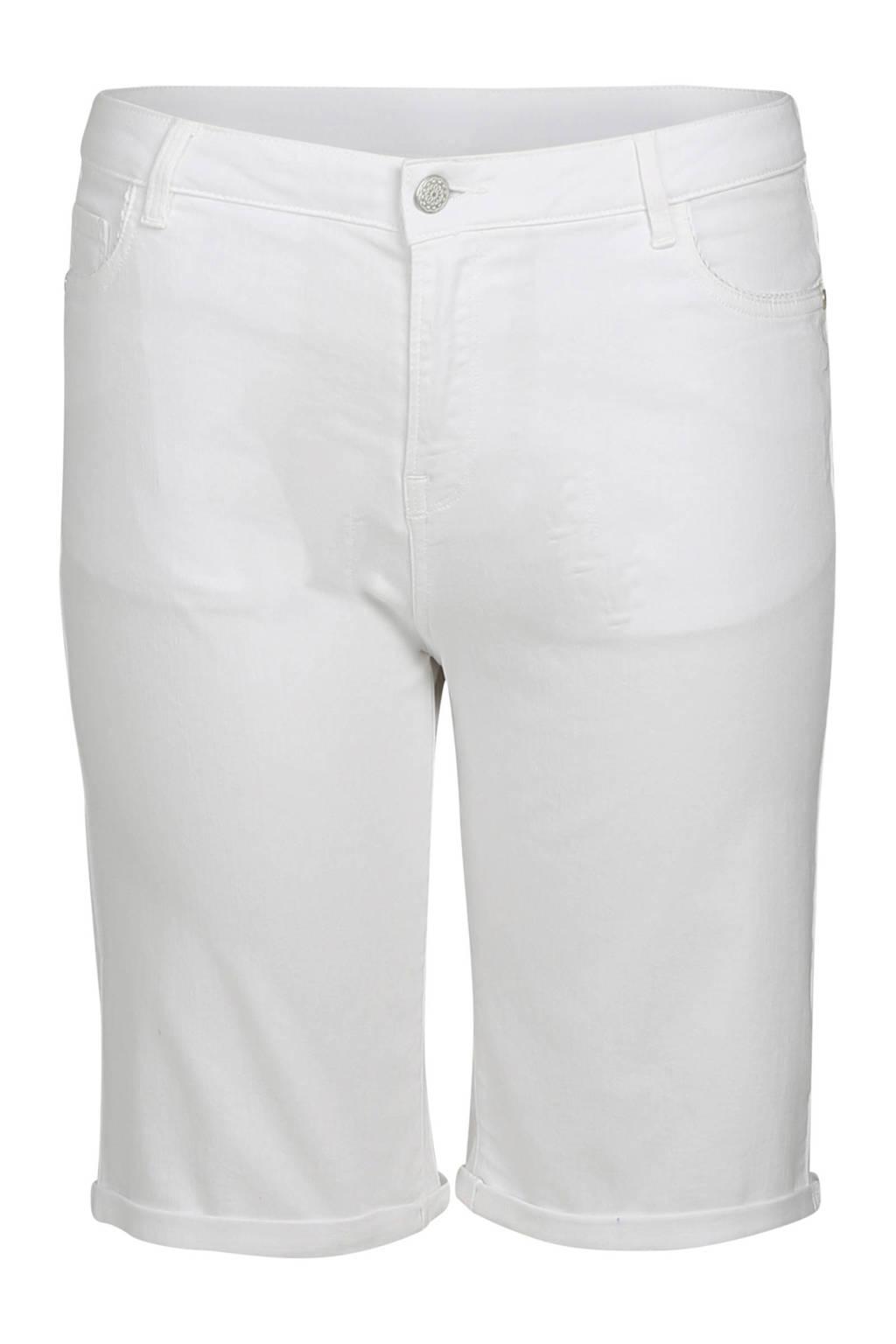 Paprika korte broek wit, Wit
