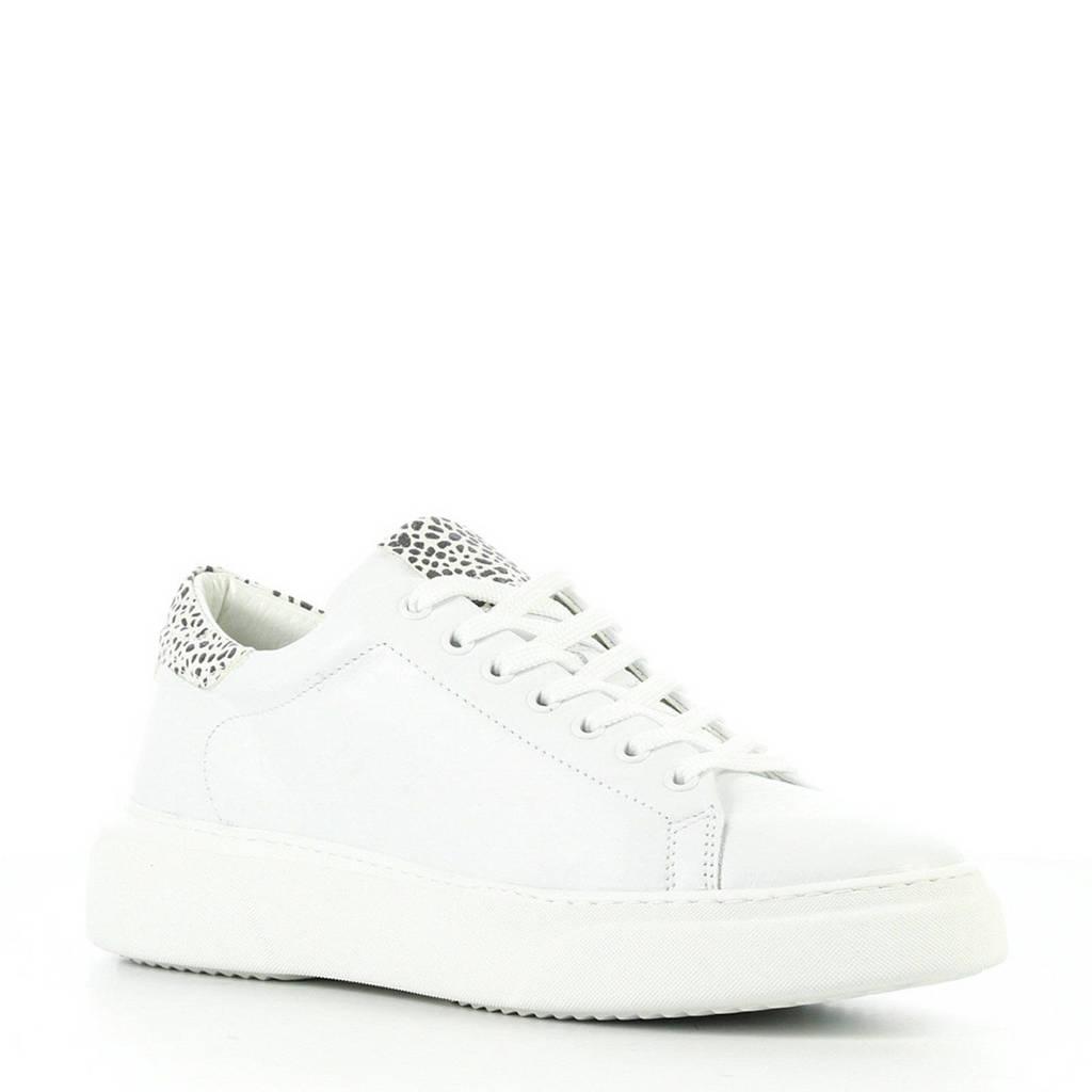 Hip  leren sneakers wit, Wit