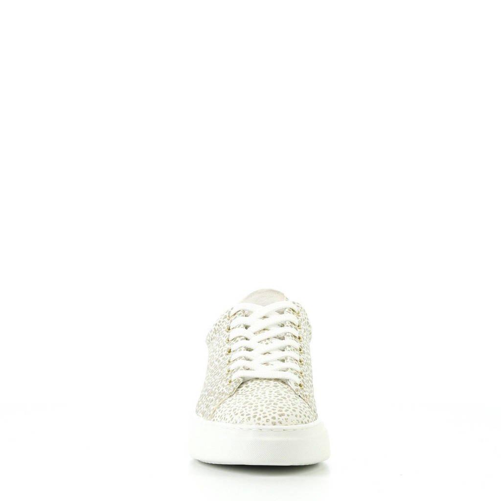 Sneakers goud Sneakers Hip Leren Leren Sneakers Hip Wit Hip Leren Wit Wit goud dwF5Cq