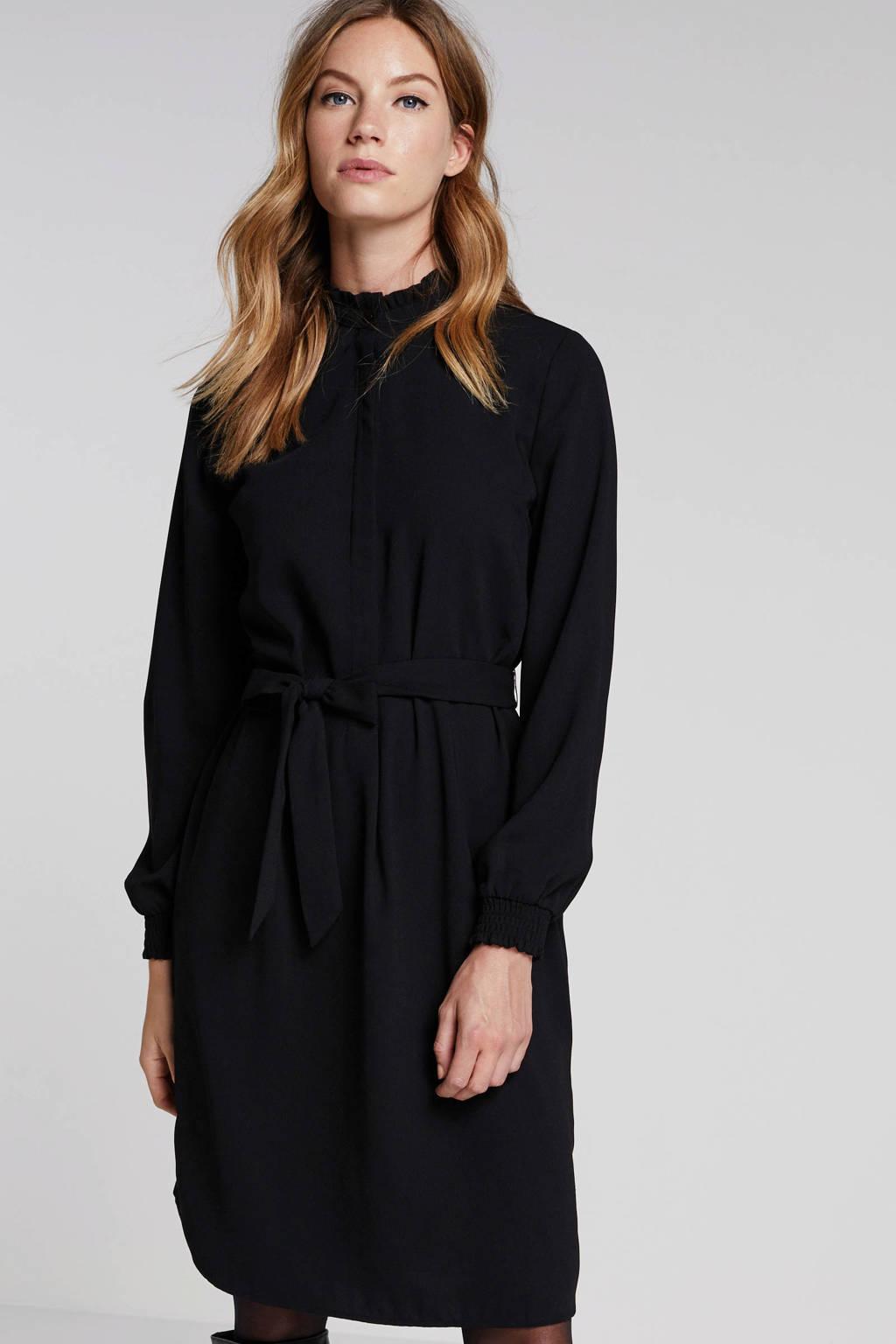 anytime blousejurk zwart, Zwart