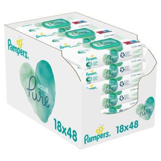 Aqua Pure 18 x 48 babydoekjes