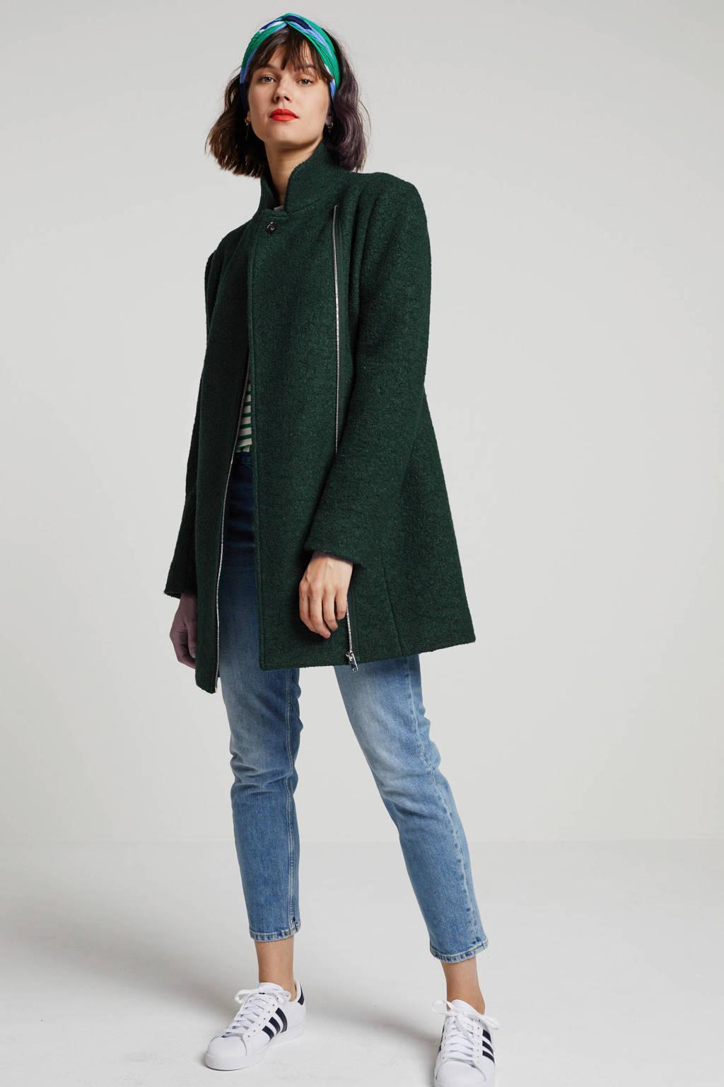 anytime coat donkergroen, Donkergroen